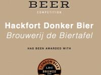 Bronzen medaille Hackfort Donker